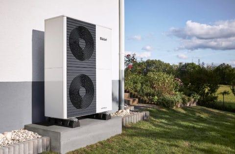 Vaillant air source heat pumps with Edinburgh Gas Renewables